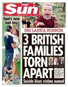 The Sun UK - 23 April 2019