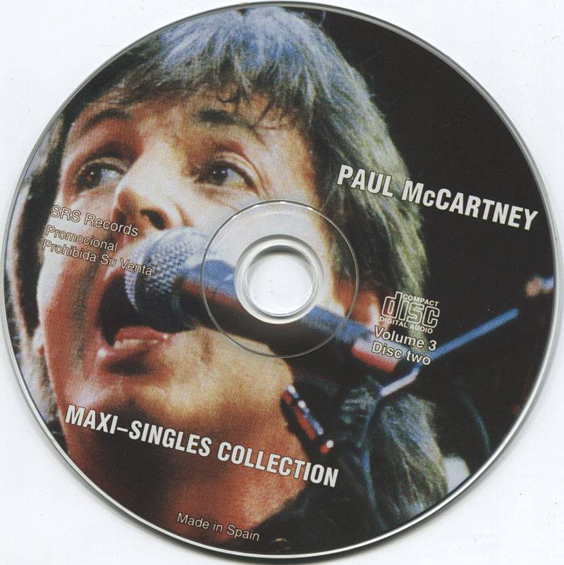 Paul McCartney - Maxi-Singles Collection Vol. 3 (2004
