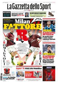 La Gazzetta dello Sport Roma – 11 aprile 2020