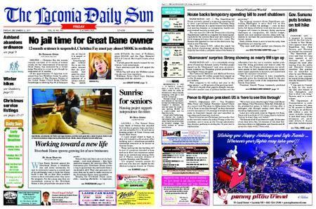 The Laconia Daily Sun – December 22, 2017