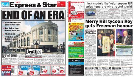 Express and Star City Edition – June 08, 2018