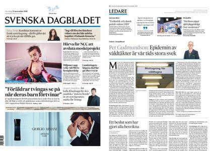 Svenska Dagbladet – 22 november 2018