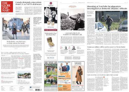 The Globe and Mail – April 04, 2018