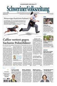 Schweriner Volkszeitung Hagenower Kreisblatt - 29. August 2018