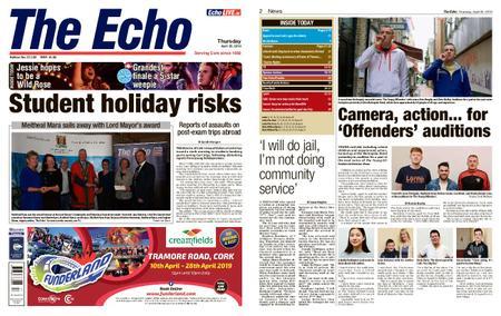 Evening Echo – April 25, 2019