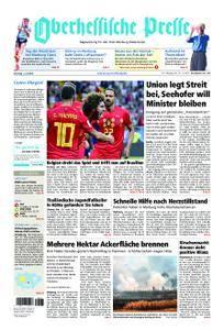 Oberhessische Presse Marburg/Ostkreis - 03. Juli 2018