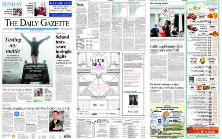 The Daily Gazette – September 17, 2017
