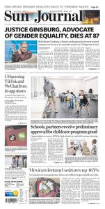 Sun Journal - Western Maine – September 19, 2020