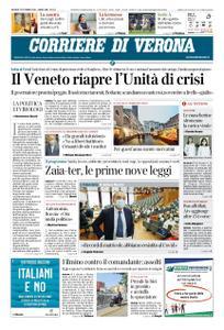 Corriere di Verona – 22 ottobre 2020