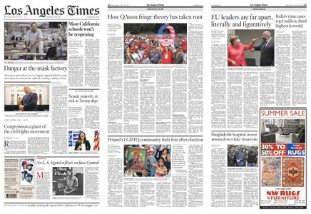 Los Angeles Times – July 18, 2020