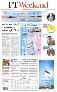 Financial Times UK - June 20, 2020