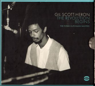 Gil Scott-Heron - The Revolution Begins. The Flying Dutchman Masters (1970-71) {2012 3CD BGP GILBOX 017}