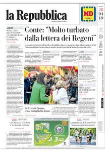 la Repubblica – 28 aprile 2019