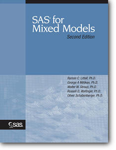 Ramon C. Littell, «SAS for Mixed Models» (2nd edition)