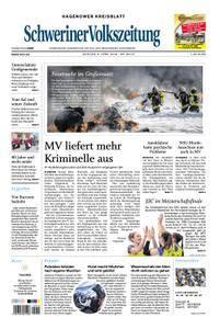 Schweriner Volkszeitung Hagenower Kreisblatt - 09. April 2018