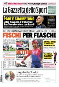 La Gazzetta dello Sport Roma – 08 aprile 2019