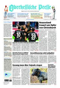 Oberhessische Presse Marburg/Ostkreis - 18. März 2019