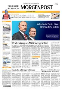 Solinger Morgenpost – 16. Januar 2020