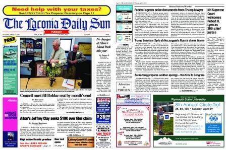The Laconia Daily Sun – April 10, 2018