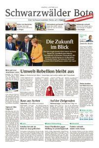 Schwarzwälder Bote Schwenningen - 08. Oktober 2019