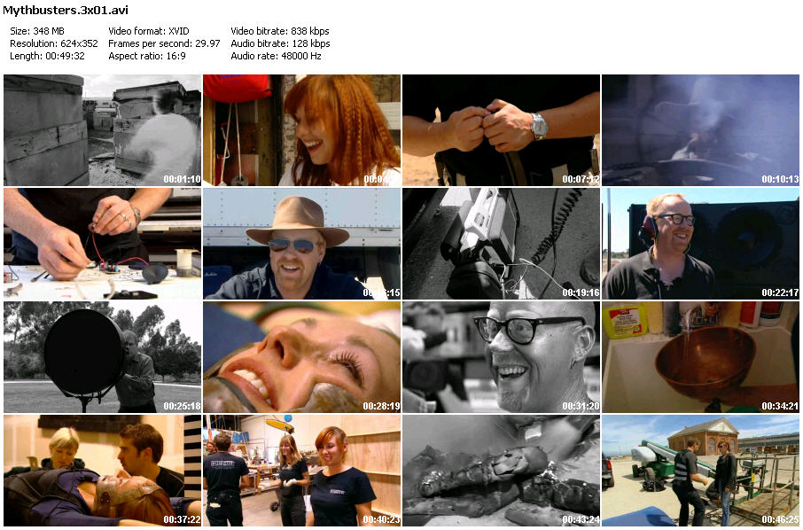 Mythbusters - Season 3(Complete)