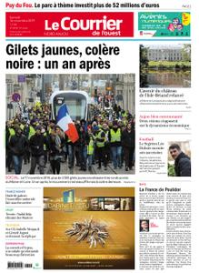 Le Courrier de l'Ouest Nord Anjou – 16 novembre 2019