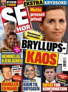 SE og HØR – 25. marts 2020