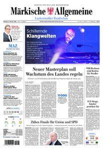 Märkische Allgemeine Luckenwalder Rundschau - 05. Februar 2018