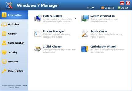 Yamicsoft Windows 7 Manager 5.1.9 DC 10.04.2018