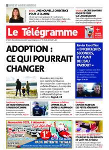 Le Télégramme Brest Abers Iroise – 02 décembre 2020