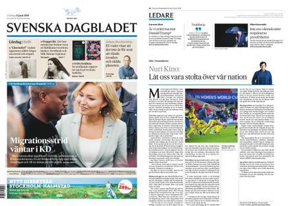 Svenska Dagbladet – 15 juni 2019