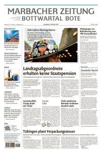 Marbacher Zeitung - 08. Oktober 2019