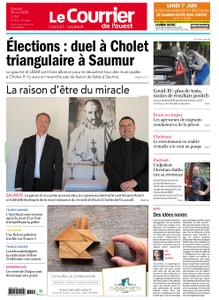 Le Courrier de l'Ouest Cholet – 30 mai 2020