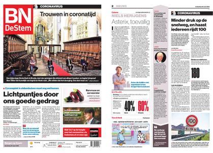 BN DeStem - Bergen op Zoom – 26 maart 2020