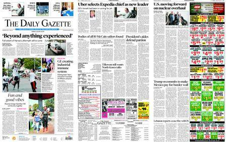 The Daily Gazette – August 28, 2017