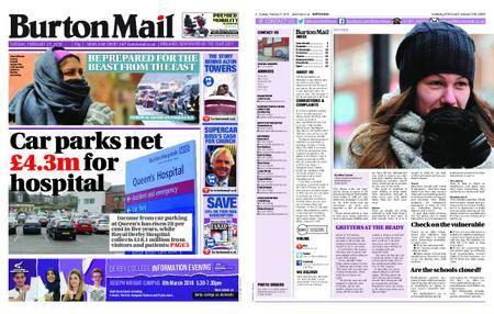 Burton Mail – February 27, 2018