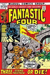 F4 1-645 [585709] Fantastic Four 119 1972 Digital AnPymGold-Empire cbz