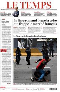 Le Temps - 01 mai 2019