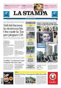 La Stampa Torino Provincia e Canavese - 6 Agosto 2019