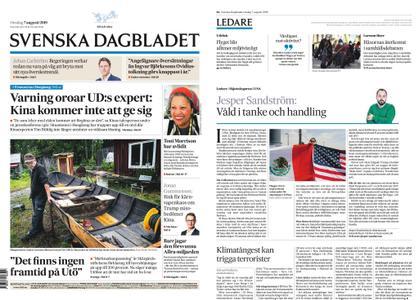Svenska Dagbladet – 07 augusti 2019