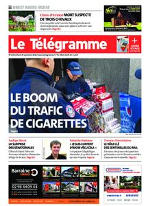 Le Télégramme Brest Abers Iroise – 29 septembre 2020