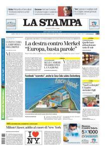 La Stampa Imperia e Sanremo - 28 Giugno 2020