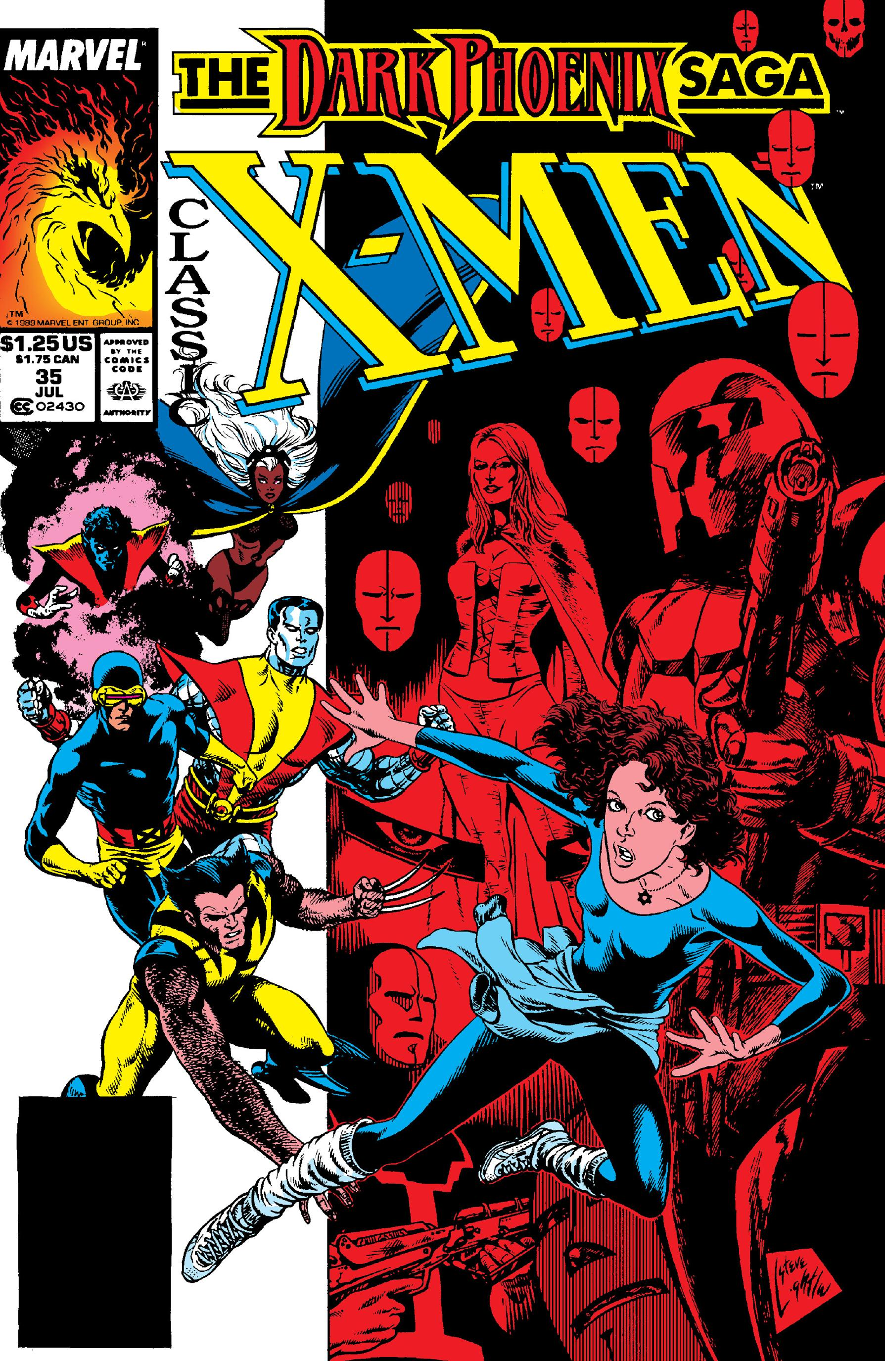 Classic X-Men 035 1989 Digital Shadowcat