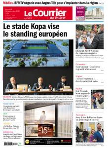Le Courrier de l'Ouest Angers – 30 septembre 2020