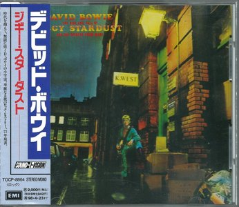 David Bowie - The Rise And Fall Of Ziggy Stardust And The Spiders From Mars (1972) {1996, Japanese Reissue, Remastered} Re-Up