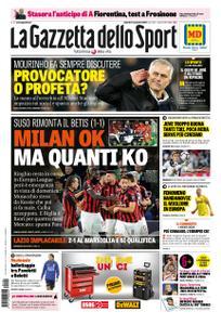 La Gazzetta dello Sport Sicilia – 09 novembre 2018