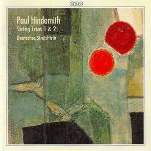 Deutsches Streichtrio - Paul Hindemith: String Trios No. 1 & 2 (1996)
