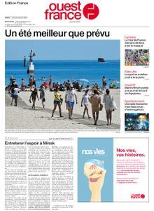 Ouest-France Édition France – 29 août 2020