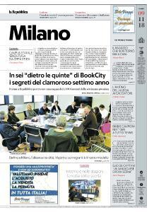 la Repubblica Milano - 9 Novembre 2018