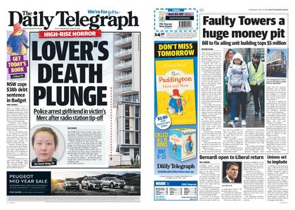The Daily Telegraph (Sydney) – June 19, 2019